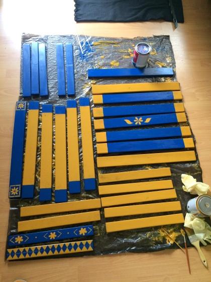 IKEA Tarnö bútor festés