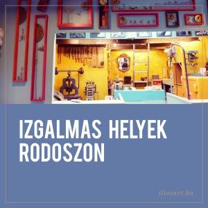Izgalmas helyek Rodoszon
