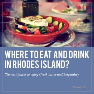 Eat drink Rhhodes island
