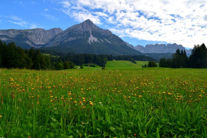 Wilder Kaiser Ellmau Ausztria Tirol