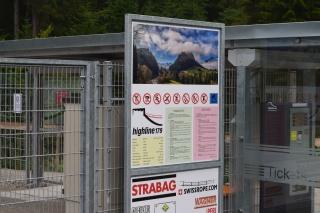 highline 179 bejárat az Ehrenberg romok felől