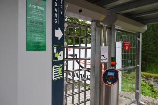 highline 179 - beléptető kapu