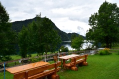 Seestüberl étterem a Hintersteiner See partján