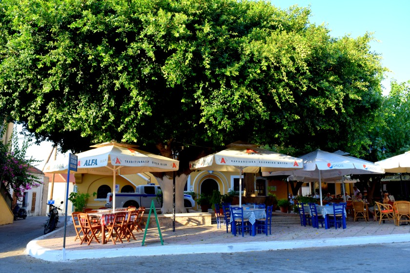 Salakos village Rhodes island