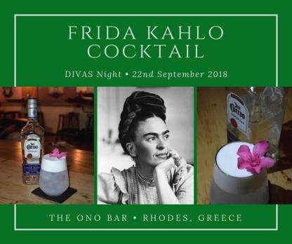 DIVAS Night cocktail cards
