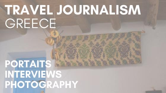 Travel Journalism Greece
